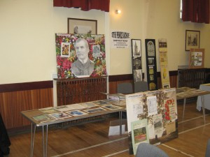 My Exhibition Stand at Cupar in  Bloom 10th Anniversary Event.
