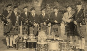CUPAR PIPE BAND